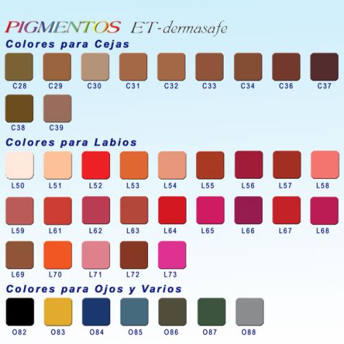 Color de micropigmentacion kaki cenizas para cejas 3 ml - Como se consigue el color naranja ...
