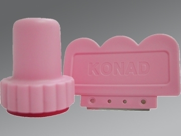 "Sello  + Raspador ""Konad Nails"""