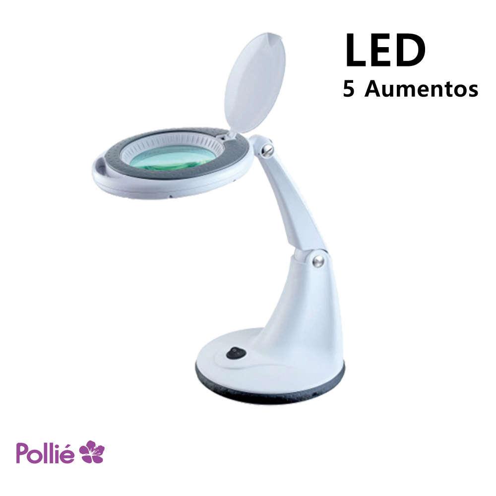 con Lupa Lupa LED con LED Lámpara Lámpara Sobremesa QrCsdth